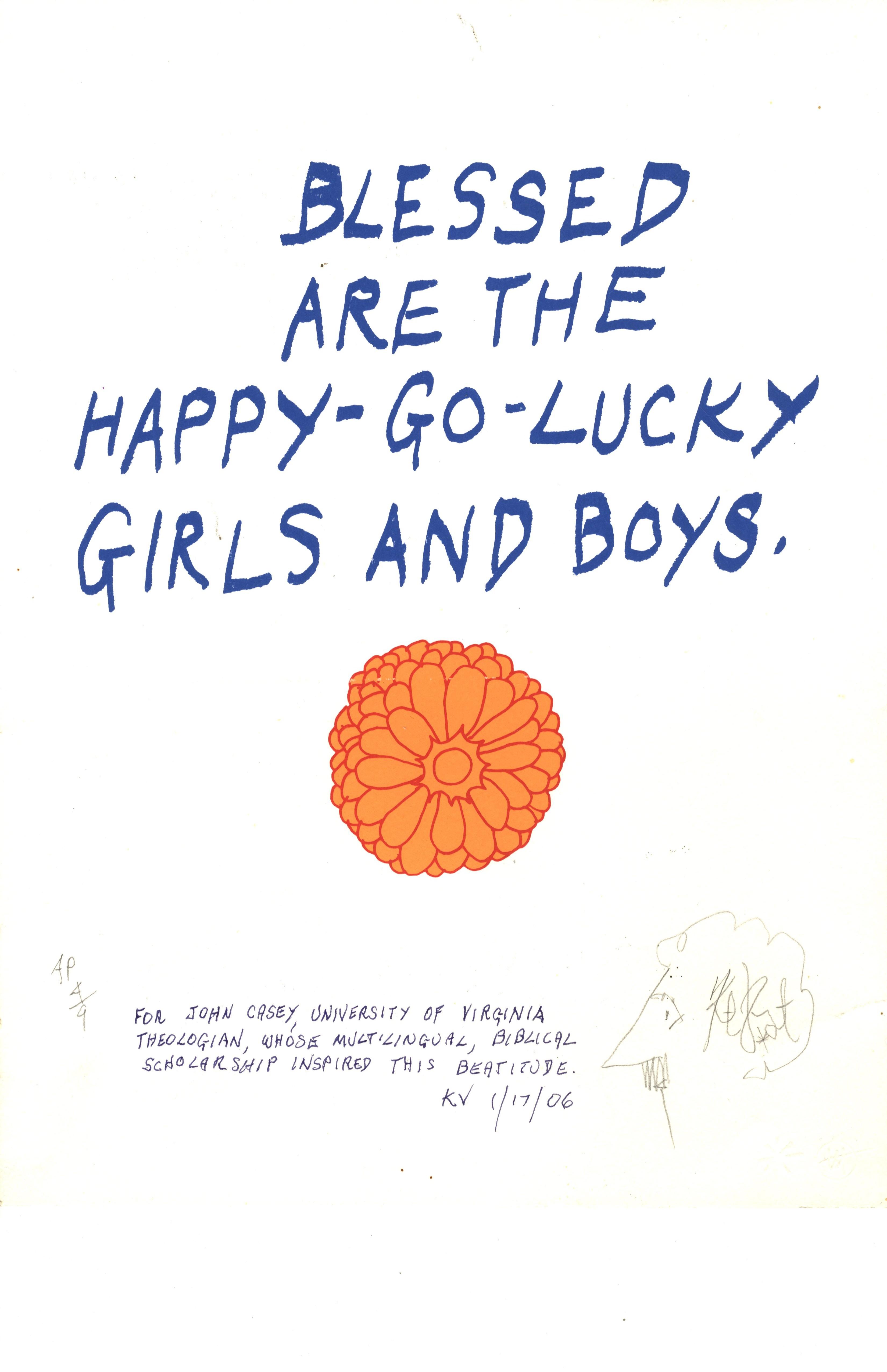 Happy Go Lucky Quotes Life: Kurt Vonnegut Reads The Bible